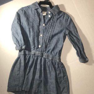 Adorable Blue Crew Cuts Dress, Size 5, EUC